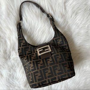 Vintage fendi monogram zucca small shoulder bag